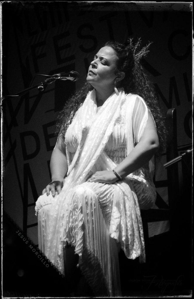 Actuación de María José Carrasco