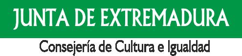 Junta de Extremadura Consejería de Cultura e Igualdad