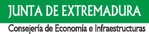 Junta de Extremadura consejería de economía e infaestructura