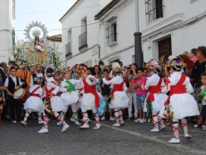 Los Danzaores de la Virgen de la Salud