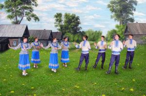 Conjunto de danza Yunost