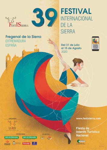 Cartel festival internacional de la sierra 2020